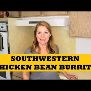 Southwestern Chicken Bean Burritos Prepper Pantry Clean Out Recipe