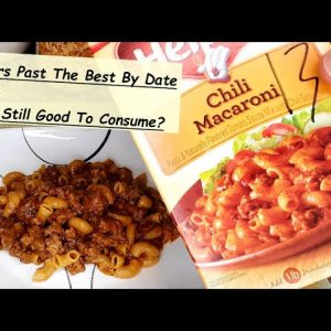 WATCH THIS VIDEO: BEFORE YOU THROW AWAY FOOD THAT'S PAST THE BEST BY DATE
