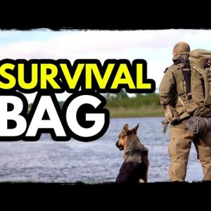 BEFORE ITS TOO LATE: Build Your Bug Out Bag