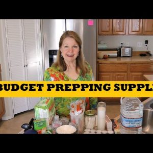 Budget Prepping Supplies Anyone Can Afford - Stock Up Now