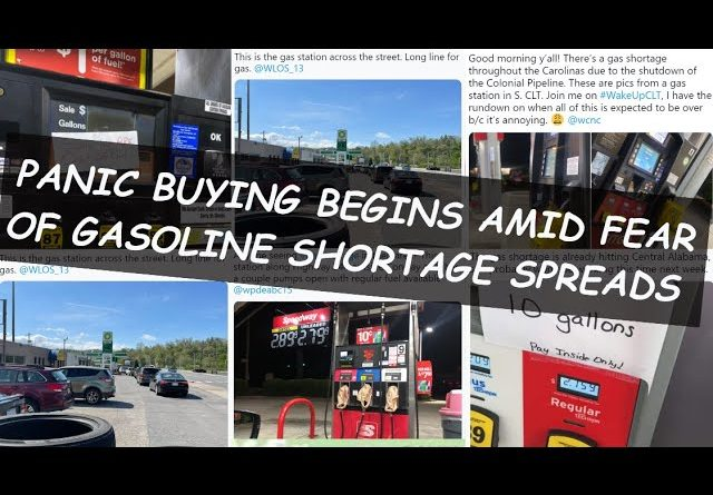 PANIC BUYING BEGINS AS GAS STATIONS RUN OUT; BUT THERE'S SOMETHING THAT'S NOT BEING TALKED ABOUT