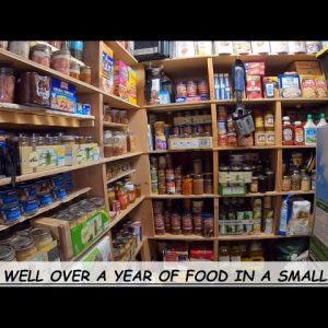 PREPPER PANTRY MAKEOVER     READY TO FEED MY FAMILY THROUGH WHATEVER MAY COME