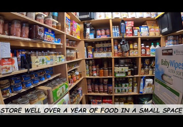 PREPPER PANTRY MAKEOVER  |  READY TO FEED MY FAMILY THROUGH WHATEVER MAY COME
