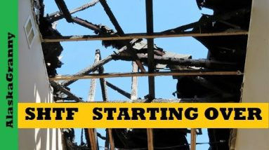 SHTF Dollar Tree Prepping - Starting Over or Starting Out - House Fire