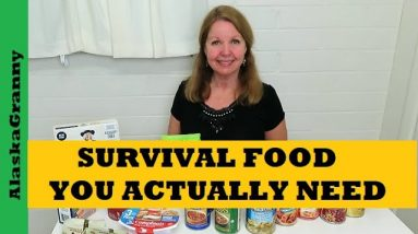 Survival Foods You Actually Need - 3 Types Of Prepper Pantry Foods