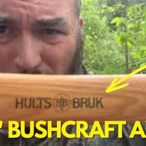 "The Hults Bruk 24"" Bushcraft Axe"