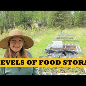 Prepper Levels Of Food Storage - Creative Solutions For Sustainable Food - Garden