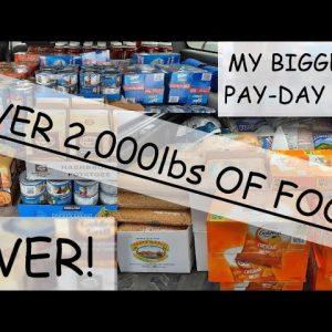 MY BIGGEST PAY-DAY PREP EVER!!