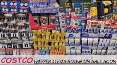 DON'T MISS OUT ON THESE 10 COSTCO PREPPER ITEMS THAT WILL BE GOING ON SALE SOON