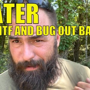 Water for SHTF and Bug Out Bags