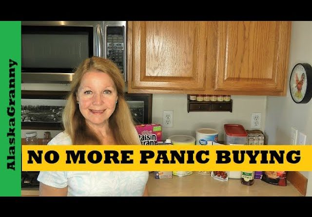 No More Panic Buying - Prepper Pantry Meal Ideas - Stock Your Prepper Pantry