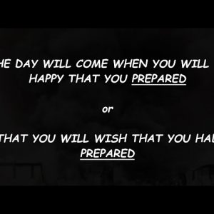 HARD TIMES AHEAD & THERE IS NO ESCAPING IT - PREPARE NOW WHILE YOU STILL CAN