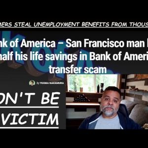SCAMMER ALERT! THE MORE ECONOMIC STRIFE - THE MORE SCAMS YOU HAVE TO WATCH FOR - PROTECT YOURSELVES