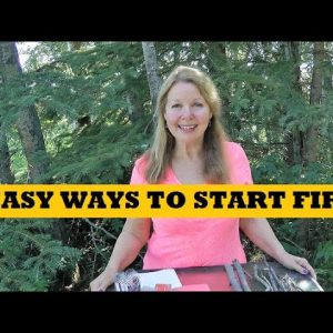 Easy Ways To Start Fires Free Cheap DIY Fire Starters