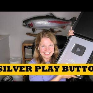 Silver Play Button Unboxing 100K Subscribers