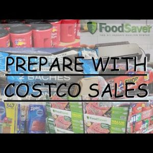 STOCK UP WITH A COSTCO HAUL & A PAY DAY PREP; COSTCO SALE ITEMS THAT BELONG IN YOUR PREPPER ARSENAL