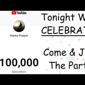 TODAY WE WILL HAVE A COMMUNITY PARTY