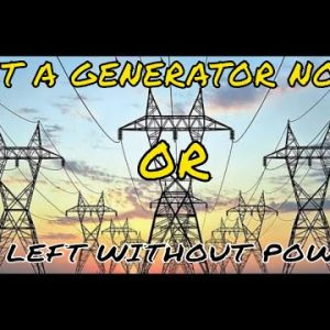 LOOK FORWARD TO MORE BLACKOUTS & BROWNOUTS - CALIFORNIA'S ELECTRIC GRID IS A RECIPE FOR DISASTER