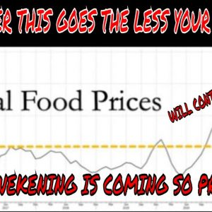 IF YOU NEED IT, YOU'D BETTER GET IT NOW - SOARING FOOD PRICES SHOW NO SIGNS OF ABATING & WILL WORSEN