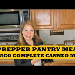 Prepper Pantry Meal Ideas With Pace Taco Complete Shelf Meals
