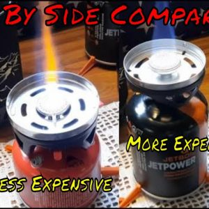 SIDE BY SIDE COMPARISON OF THE JETBOIL & THE BLUU CAMPING STOVES