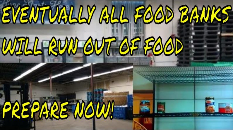 FOOD BANK STARTS TO RUN OUT OF FOOD AS FEDERAL $ RUNS OUT - WHO WILL YOU TURN TO WHEN FOOD RUNS OUT