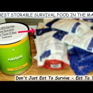 START OFF PREPAREDNESS MONTH BY STOCKING UP ON NUTRIENT DENSE SURVIVAL FOOD INSTEAD OF DEAD CALORIES